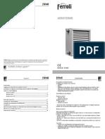 Aeroterme Ferroli Manual Tehnic-2013