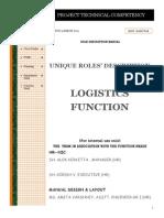 Logistics Roles