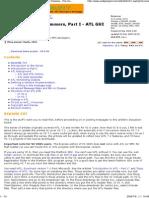WTL for MFC Programmers, Part I - ATL GUI Classes