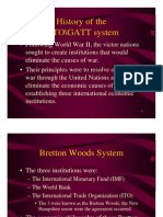 History of the WTO\GATT System