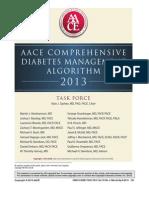 Diabetes Algorithm 05-01-2013