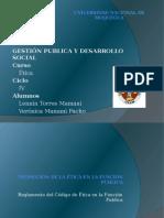 Exposicion Promocion Codigo Etica