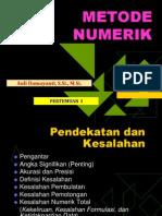 Metode Numerik (TM1)