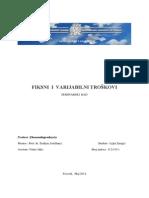 Fiksni i Varijabilni Troškovi (2)