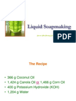 Liquid Soap Making