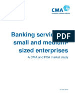 FCA and CMA SME Banking Final Report