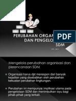 Bab4 Perubahan organisasi