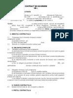 Model Contract in Chiri Ere