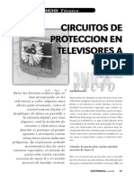 Circuitos de Proteccion en Televisores a Color