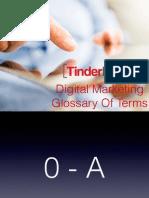 Digital Marketing Glossary of Terms