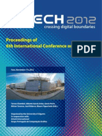 Proceedings ARTECH2012