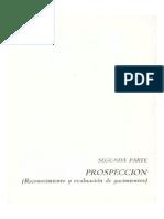 Generalidades Sobre La Prospección de Los Yacimientos de Min