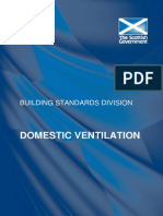 Scottish Building Standard - Ventilation