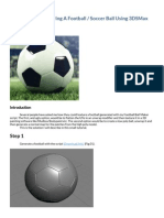 Creating & Texturing A Football - Soccer Ball Using 3DSMax.pdf