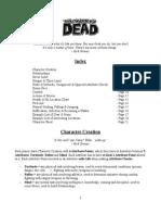 The Walking Dead - Rules