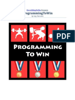 Programming to Win