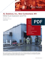 AL Solutions, Inc. Metal Dust Explosion and Fire