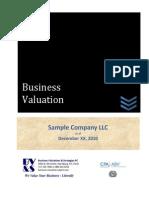 Sample BV Report