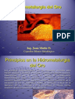 Hidrometalurgia de Oro-parte 1