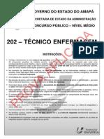 Saúde AP NM 202 Técnico Enfermagem