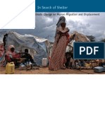 In Search of Shelter- Mapping the Effects of Climate Change on Human Migration and Displacement
