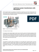 Siemens Energy Optimises Power Transformers With the Aid of 3D EM Simulation