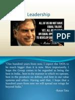 Ratan Tata Leadership Final