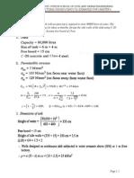 Example 6 1 Rectangular Water Tank Design