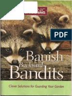 Banish Backyard Bandits