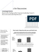 CLC Business Case for Succession Management