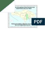 Bantek Penjabaran RTRW Wilayah Timur