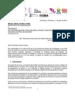 2014.07.17 Carta SEGOB Sobre Codigos Procesales FINAL (1)