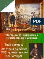 Restauração da Independência 1640-3ano