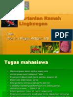 01. Pertanian Ramah Lingkungan2013