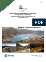 Apendice H - Diseños de Pozas de Sediment