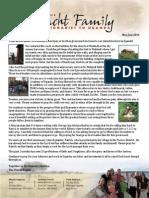 Tracht May-Jun 2014 Prayer Letter