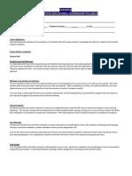 web page syllabus