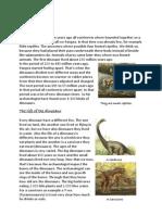 Dinosaurssen Engels Compleet Nog Niet Aangepast!