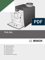 BoschTCA5401Bedienungsanleitung