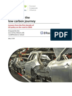 Investing in the low carbon journey