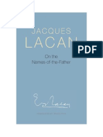 2013, Jacques Lacan - On the Names of the Father