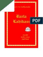BARLA LAHİKASI-SAİD NURSİ