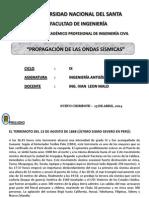 2.- Propagaci_n de Las Ondas S_smicas