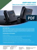 Gxp140x Datasheet Spanish