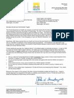 Burwell Fugate Letter