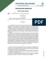 Nueva Ley de Telecomunicaciones_BOE a 2014 4950