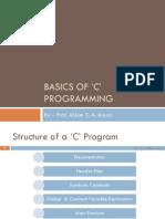 Basic of C Program