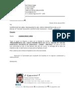 Carta Liquidacion