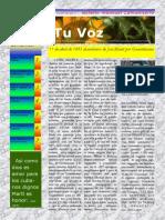 Tu Voz - Abril 2014