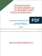 05 - Tipos de Rochas - Rocha Metamorfica - Rocha Sedimentar - Ciclo Das Rochas - Bacias